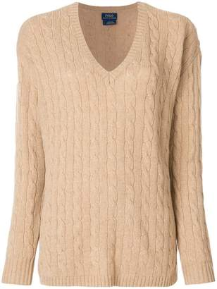 Polo Ralph Lauren cable-knit jumper