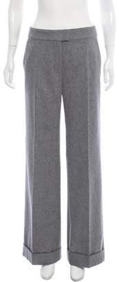 Paule Ka Wool Mid-Rise Pants