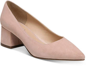 Franco Sarto Callan Block-Heel Pumps Women's Shoes