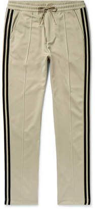 ec16290897caf Y-3 Slim-Fit Striped Tech-Jersey Track Pants