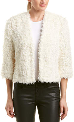 Paper Crown Fuzzy Jacket