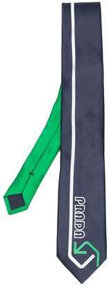 Prada logo design tie