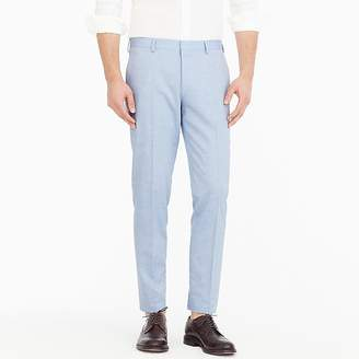 J.Crew Ludlow Slim-fit suit pant in light blue American wool blend