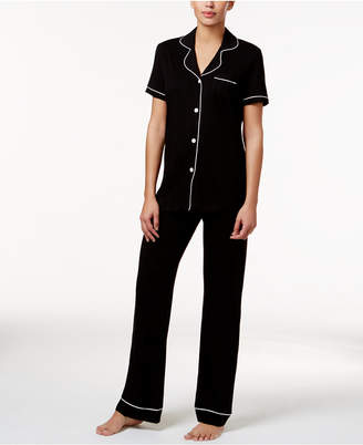 Cosabella Bella Satin-Trim Pajama Set AMORE9642, Online Only
