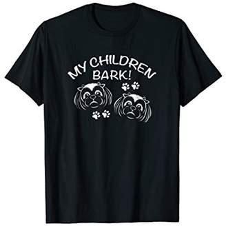 My Children Bark / Cute Shi Tzu Tshirt
