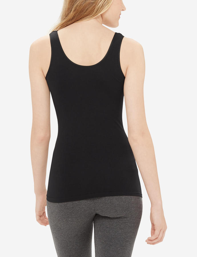 The Limited Satin Trim Seamless Tank