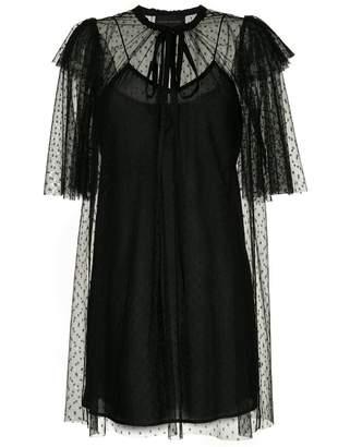 Karen Walker Dark Squares dress