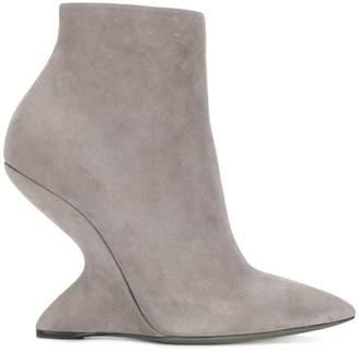 Salvatore Ferragamo F Heel booties