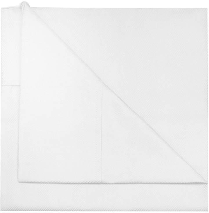 Knightsbridge Linens 600tc Cotton Herringbone Sheet Set