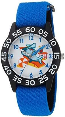 EWatchFactory Boy's 'Shark Week' Quartz Plastic and Nylon Sport Watch