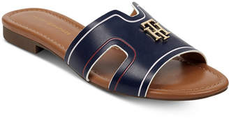 Tommy Hilfiger Sugari Flat Sandals Women Shoes
