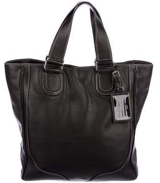 Dolce & Gabbana Leather Miss Exotic Tote