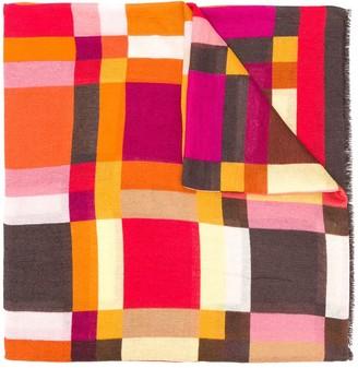 Altea geometric printed scarf
