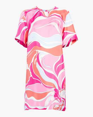Emilio Pucci Rivera Short Sleeve Dress