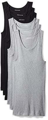Amazon Essentials Men's 6-Pack Tank Undershirts