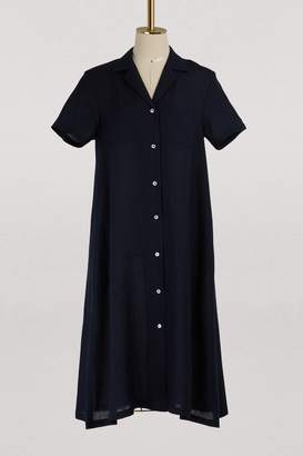Mansur Gavriel Linen shirt dress