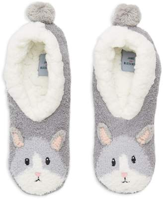 Jane & Bleecker Critter Slip-On Slippers