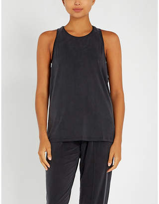 Monreal London Muscle stretch-jersey top