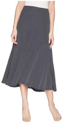 Chaps Striped Jersey Maxi Skirt Women's Skirt