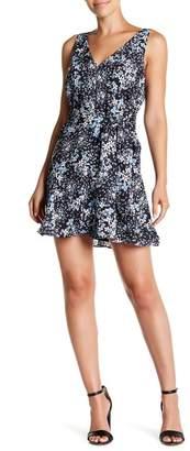 Parker Tie Front Floral Print Dress