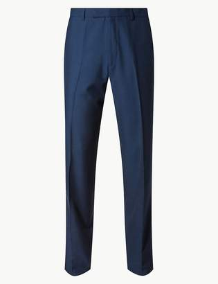 Marks and Spencer Big & Tall Indigo Tailored Fit Trousers