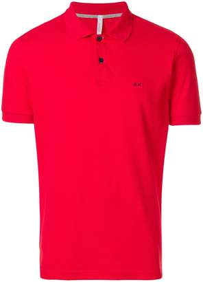 Sun 68 short sleeved polo shirt