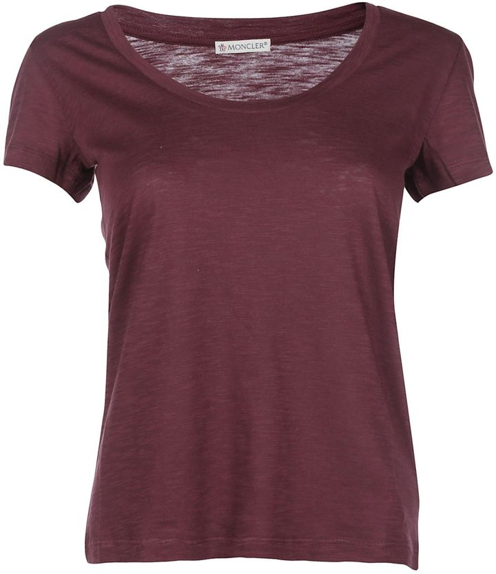 MonclerMoncler T-shirt Burgundy