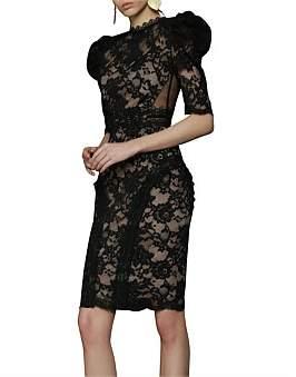 Bronx & Banco Madeleine Noir Dress