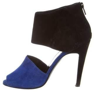 Pierre Hardy Bi-Color Suede Sandals