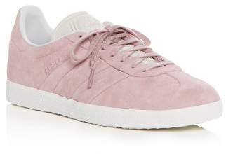 adidas Women's Gazelle Stitch and Turn Suede Lace Up Sneakers