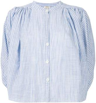 Bellerose striped fitted blouse