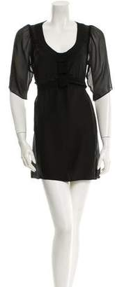 Timo Weiland Silk Mini Dress