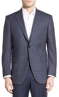 Men's Peter Millar Classic Fit Plaid Wool Sport Coat $695 thestylecure.com