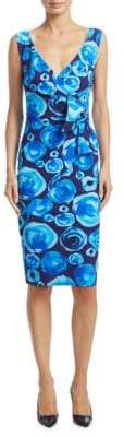 Chiara Boni Printed Knee-Length Dress