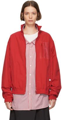 Facetasm Red Transparent Jacket