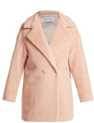 Harris Wharf London Alpaca Blend Double Breasted Coat - Womens - Light Pink