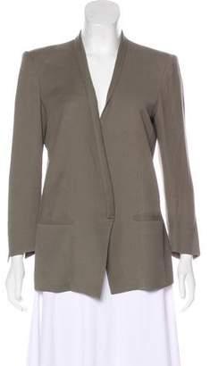 Helmut Lang Structured Button-Up Blazer
