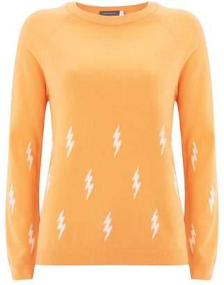 Mint Velvet Sherbet Lightning Bolt Knit