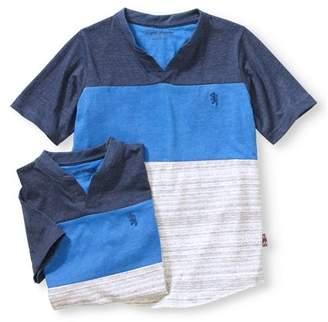 English Laundry Boys' 2 Pc Blue Short Sleeve T-Shirt Combo