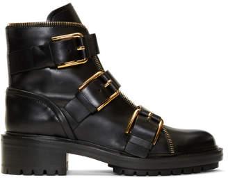 Balmain Black Ambra Ranger Boots