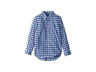 Polo Ralph Lauren Plaid Performance Poplin Shirt (Toddler)