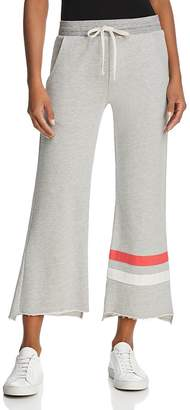 Sundry Striped Flared Sweatpants