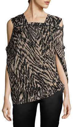 Tom Ford Silk Printed Blouse
