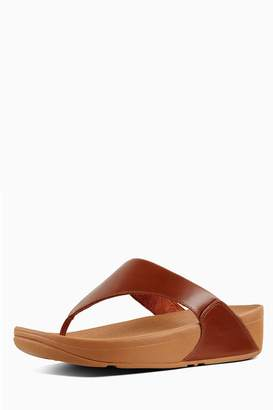 d09ff506013 Next Womens FitFlop Caramel Lulu Leather Toe Post Sandal