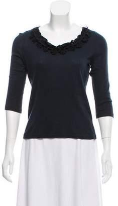 Chloé Long Sleeve Knit Top