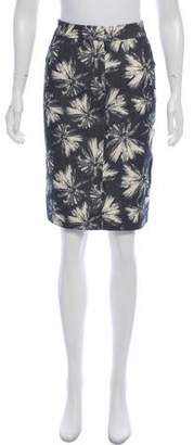 L'Agence Printed Pencil Skirt w/ Tags