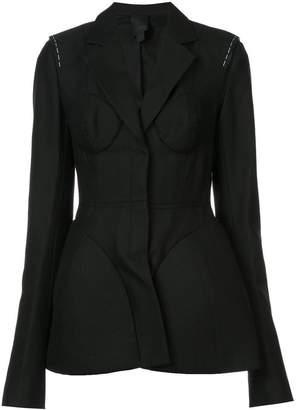 Vera Wang structured blazer