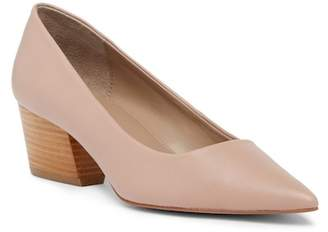 Donald J Pliner Anni Pointed Toe Leather Pump