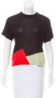 Veda Intarsia Knit Top