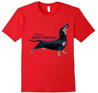 I Know a Little German Funny Dachshund T-Shirt